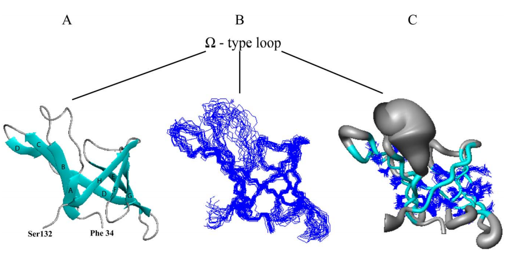 NMR structure of the soluble domain of lipoprotein YxeF.