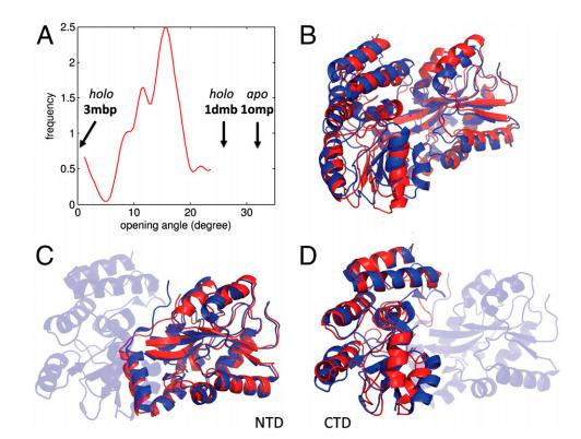 RASREC Rosetta results for maltose-binding protein.
