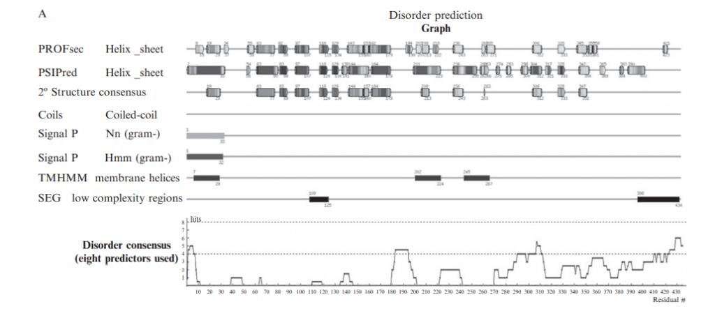 The NESG Disorder Prediction Server (DisMeta)
